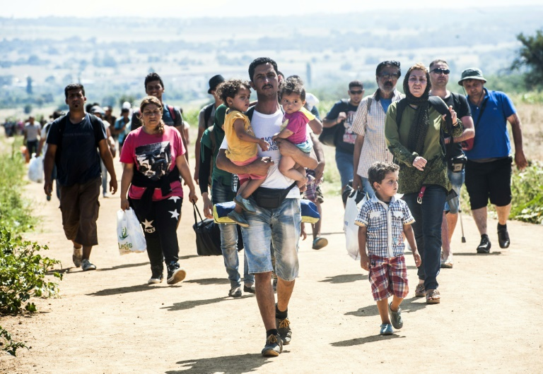 Famille de migrants